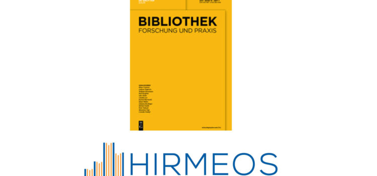 New Paper on the HIRMEOS Project in Bibliothek Forschung und Praxis