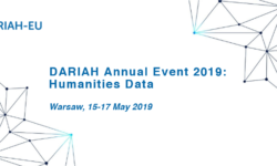 HIRMEOS at the DARIAH Annual Event 2019